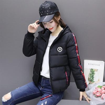 布桂坊棉服女短款2017冬季新款韩版修身显瘦百搭学生小棉衣外套1667