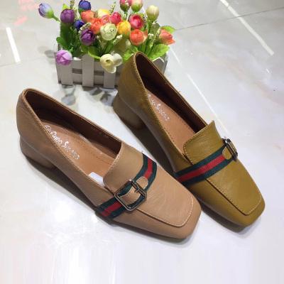 足尚 韩版气质新款单鞋女鞋鞋 688-2