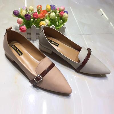 足尚 韩版气质新款单鞋女鞋 752-9