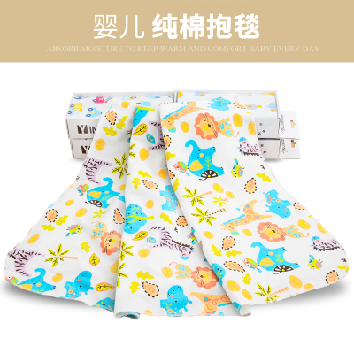 英尼熊 新款婴儿空气被单层棉被大浴巾床枕巾 Y2