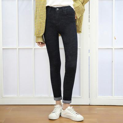 新款 时尚显瘦百搭牛仔九分裤 1010
