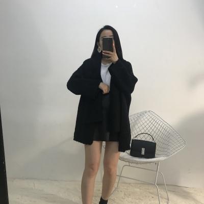 lambs女装2017年冬款上新纯色外套短款6195#