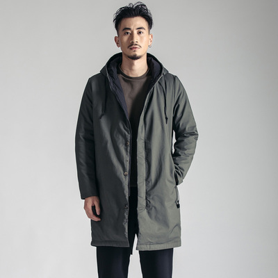 简乐淘 时尚百搭中长款棉衣JD78006