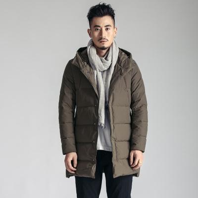 简乐淘 时尚百搭中长款羽绒服JD78007
