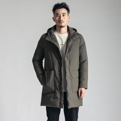 简乐淘 时尚百搭中长款羽绒服JD78008
