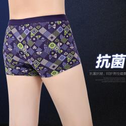 莲朦2017年新款上新男士内裤4条装盒装内裤6031