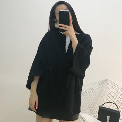 lambs女装 2017年冬款上新百搭针织衫 6194