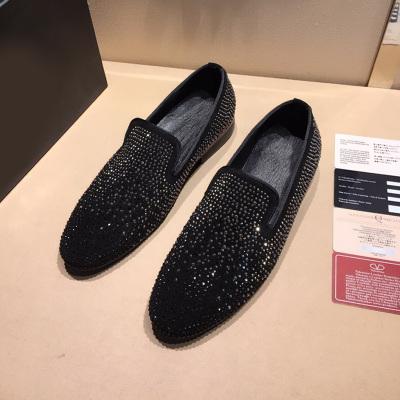 欧尚毕威 烫钻套脚乐福鞋男鞋 10