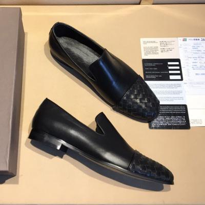 欧尚毕威 编织皮鞋男士正装鞋 14