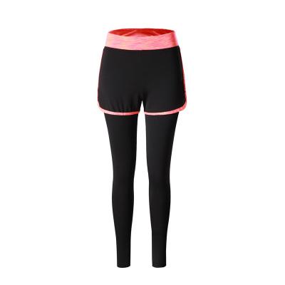 2017 秋冬新款上新女士七彩长裤瑜伽裤健身裤舒适 E300