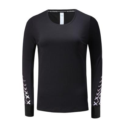 2017秋冬上新运动衣健身衣长袖多色吸汗女装长袖 K801