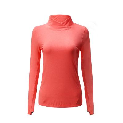 2017秋冬上新女装立领长袖纯色多色健身衣瑜伽服吸汗舒适 K802