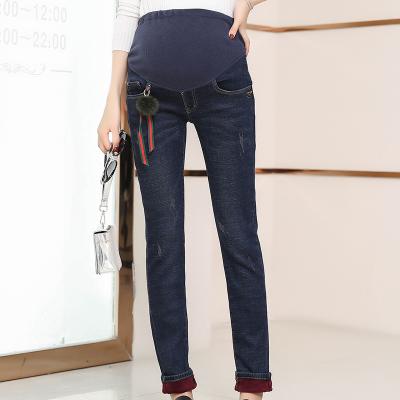 爱孕七色蝴蝶时尚复合牛仔裤 AR8650