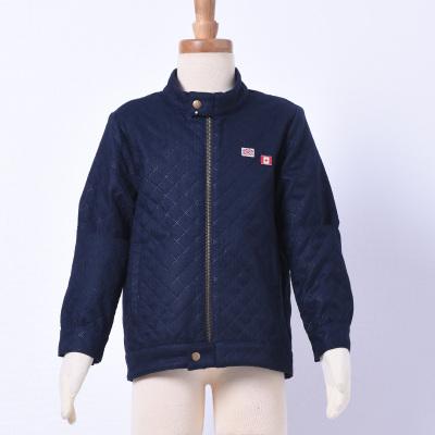 2017 秋冬新款上新男童格子外套