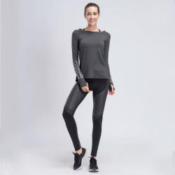 2017 秋冬上新女士健身套装 K801+E309