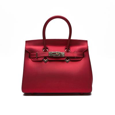 汇德可艾艾 大BK新款优雅时尚潮流韩版手挎斜跨手提单肩果冻包女包 DBK-01