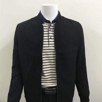 冬季新款纯色外套夹克 201705