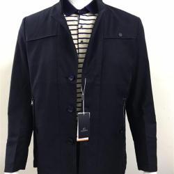 新款男士修身立领外套5019
