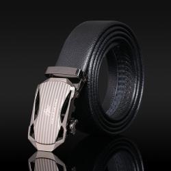 金皮王 自动扣商务男士韩版休闲超纤皮带