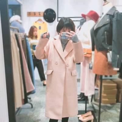 【16号】LYDIA 2017新款阿尓巴卡加厚长款外套