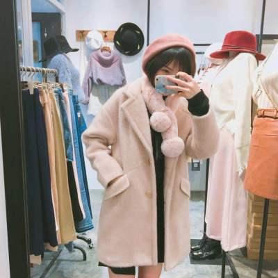 【6号】LYIDIA 2017新款金貂绒加厚夹棉外套