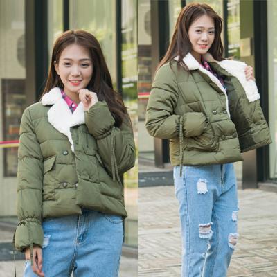 RYX 新款韩版bf原宿风宽松棉袄短款面包服修身棉衣棉服学生外套女 6609