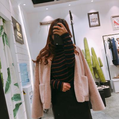 【3号】LYDIA 2017新款皮毛一体外套
