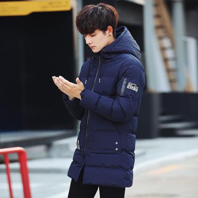 圣仕轩2017年男装新款上新中长款棉衣830#