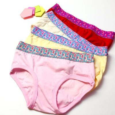 吕键2017年新款上新儿童内裤四条装颜色随机