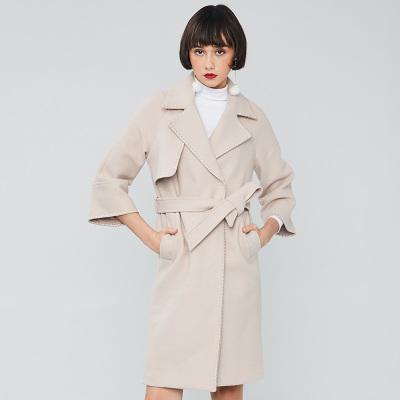 【超值享受3件起批-198】洛琳雅美 女装保暖韩版30%羊毛毛呢大衣 2017AW0001