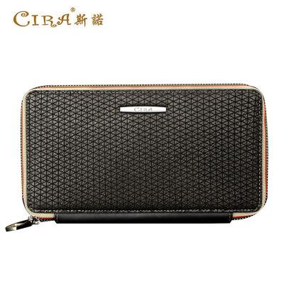 斯诺 韩版新款男士长款钱包C60455
