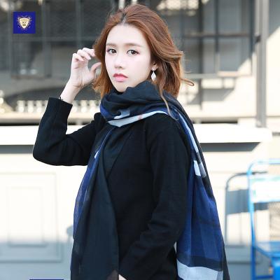御勋 巴宝莉经典格子轻薄款时尚潮流围巾 YX111