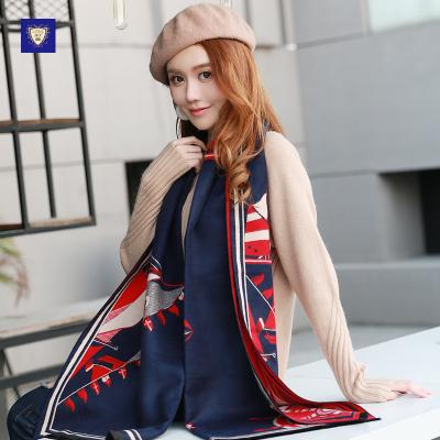 御勋 拉毛轮船款时尚潮流围巾 YX117