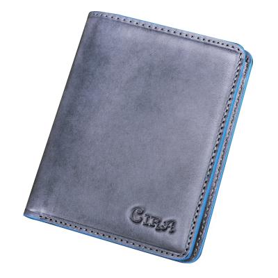 斯诺 时尚潮流真皮男士钱包C80372