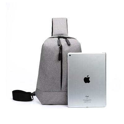 宇洛男士胸包韩版潮单肩包斜挎包学生运动休闲 胸前包小包包YL3018