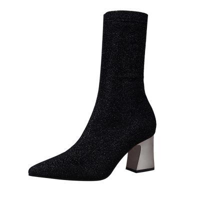 美度 2017新款时尚中长靴 178-2
