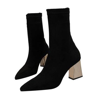 美度 2017新款时尚中长靴 178-3