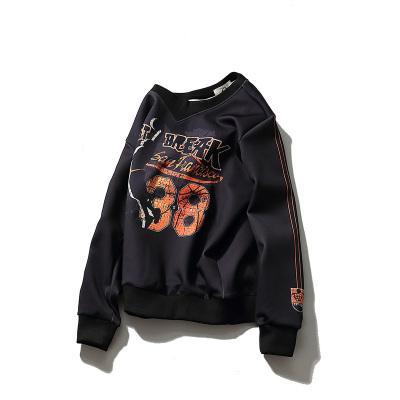 2018年春季新品3D卫衣 篮球明星 嘻哈韩版卫衣 2307