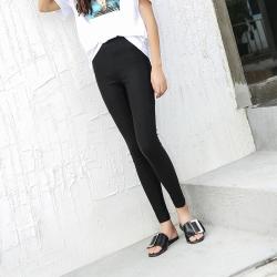 2017新款女秋季黑色裤子弹力休闲休闲裤韩版百搭铅笔小脚裤长裤