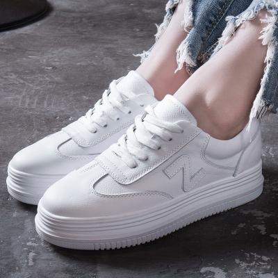 运动鞋绑带休闲时尚小白女鞋2018新款个性百搭秋冬季学生跑步鞋子TH17120125