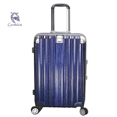 傲世箱包 韩版时尚大容量铝框款万向飞机轮拉杆箱旅行箱 ABS+PC壳浅框新扣