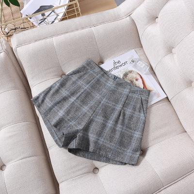 韩版高腰修身显廋拉链舒适面料裙裤 新款短裤休闲裤女 厂家批发 803