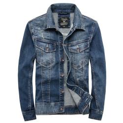 第八道 新款时尚休闲牛仔外套修身薄款 3351