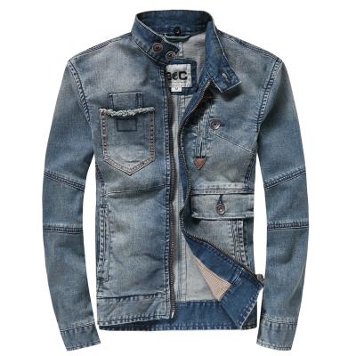 第八道 新款时尚休闲牛仔外套加纯棉里布 3318