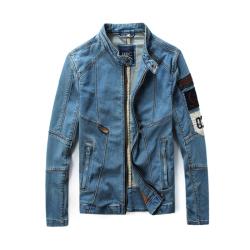 第八道 新款时尚休闲牛仔外套加纯棉里布 1544
