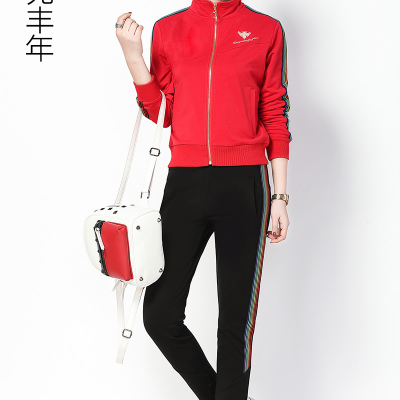 小雲兆丰年 2018春季新款休闲运动套装 2007