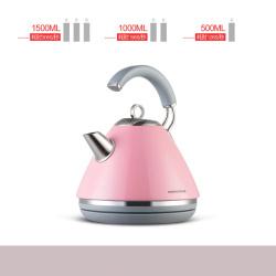 摩飞 经典电热水壶粉色