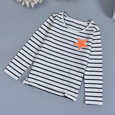 德奥卡迪 2018年春秋款时尚女童T恤#3001