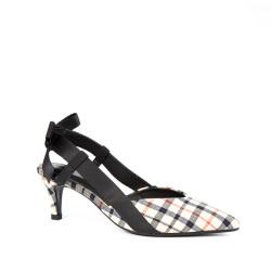 东琪 尖头单鞋韩版细跟高跟鞋女鞋百搭春鞋18161-2