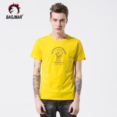 bagjmar 夏季短袖男装T恤 88018